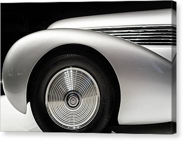 1938 Hispano-suiza H6b Xenia Canvas Print by Wade Brooks