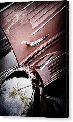 Bugatti Vintage Car Canvas Print - 1939 Bugatti T57c Galibier -0298ac by Jill Reger