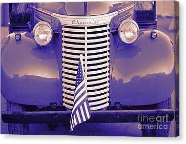 American Independance Canvas Print - 1939 Chevrolet Truck by George Robinson