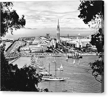 1939 Treasure Island View Canvas Print by Underwood Archives