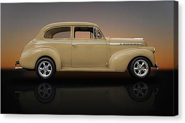 1940 Chevrolet Special Deluxe Sedan  -  5co Canvas Print
