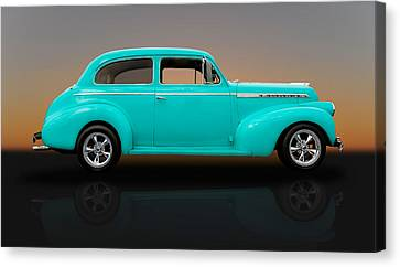 1940 Chevrolet Special Deluxe Sedan - V1 Canvas Print