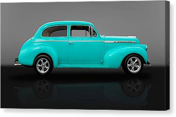 1940 Chevrolet Special Deluxe Sedan - V2 Canvas Print