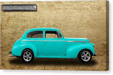 1940 Chevrolet Special Deluxe Sedan - V4 Canvas Print