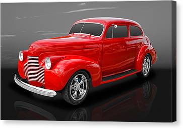 1940 Chevy Special Deluxe Canvas Print