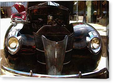 1940 Ford Coupe Canvas Print by Thom Zehrfeld