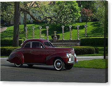 1940 Mercury Coupe Canvas Print by Tim McCullough