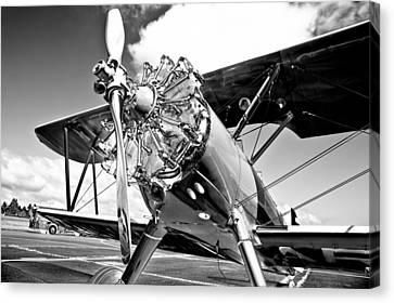 1940 Stearman Biplane Canvas Print