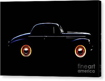 1940 Studebaker Business Coupe Canvas Print by Baggieoldboy