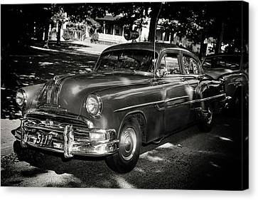1940s Police Car Canvas Print