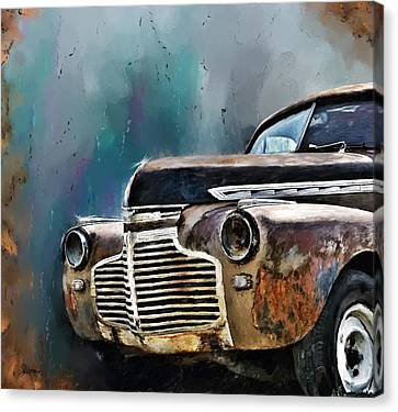 1941 Chevy Canvas Print