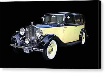 1941 Rolls-royce Phantom I I I  Canvas Print by Jack Pumphrey