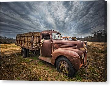 1942 Old Ford Truck Canvas Print