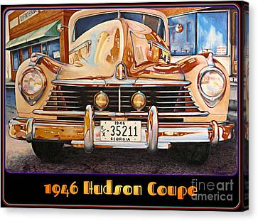 1946 Hudson Canvas Print by David Neace