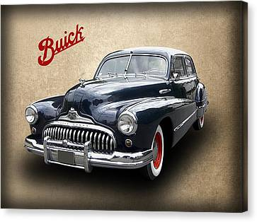 1947 Buick 8 Canvas Print by Daniel Hagerman
