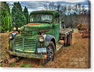 1947 Gmc Truck 2 General Motors Truck Art Canvas Print