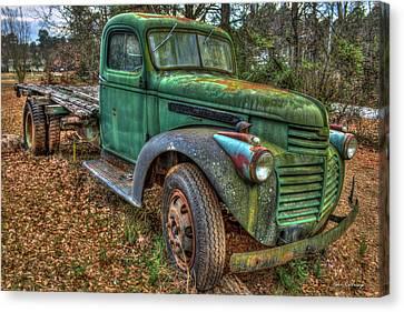 1947 Gmc Truck General Motors Truck Art Canvas Print