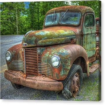 1947 International Harvester Company Truck Canvas Print by Reid Callaway