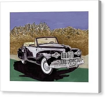 1947 Lincoln Continental Mk I Canvas Print by Jack Pumphrey