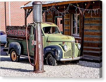 1947 Studebaker M-5 Pickup Truck Canvas Print