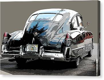 1948 Fastback Cadillac Canvas Print by Robert Meanor