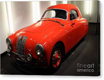 1948 Fiat 1100s - 7d17308 Canvas Print by Wingsdomain Art and Photography