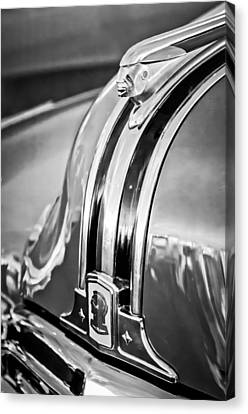 Mascots Canvas Print - 1948 Pontiac Chief Hood Ornament 4 by Jill Reger