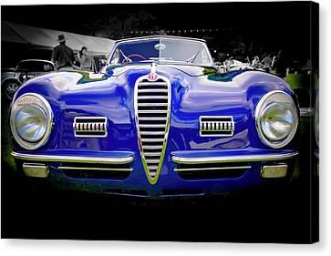 1949 Alfa Romeo 6c25 Swb Cabriolet 6c25 Swb Cabriolet Canvas Print