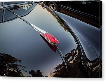 Chevy Coupe Canvas Print - 1949 Chevrolet Coupe Hood Ornament  by Rich Franco