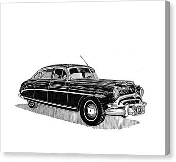 1949 Hudson Hornet Sedan Canvas Print