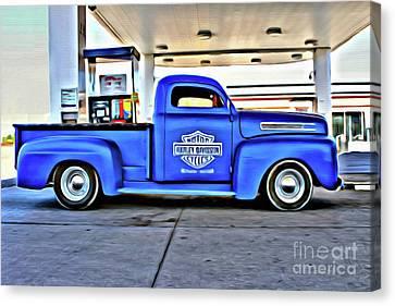 1949 Mercury Truck Canvas Print