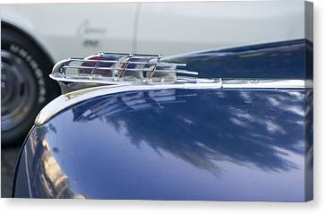 1949 Plymouth Super Deluxe Canvas Print by Cathy Anderson