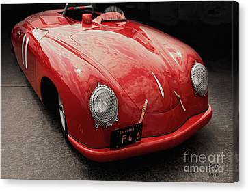 1949 Porsche 356sl  Canvas Print by Curt Johnson