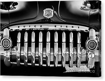 1950 Buick Eight Grille Canvas Print by Tim Gainey