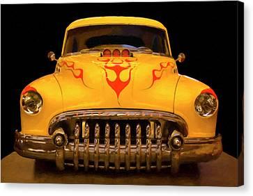 1950 Buick Sedanette Digital Oil Canvas Print