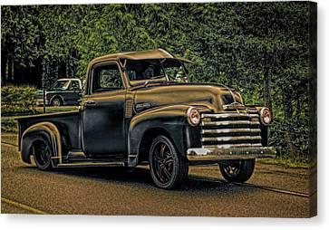 1950 Chev Pickup Canvas Print
