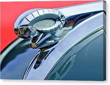 1950 Dodge Coronet Hood Ornament Canvas Print by Jill Reger