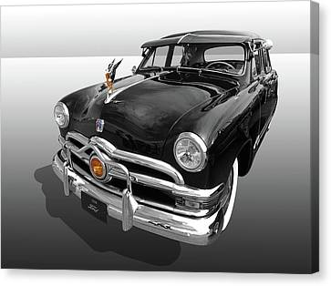 Custom Ford Canvas Print - 1950 Ford Sedan by Gill Billington