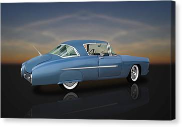 1950 Leo Lyons Ultra Modern Merc  -  50umm2-1 Canvas Print