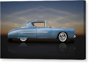 1950 Leo Lyons Ultra Modern Merc  -  50umm3-1 Canvas Print