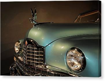 1950 Packard Cormorant Hood Ornament Canvas Print