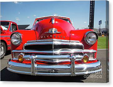 1950 Plymouth Automobile Canvas Print