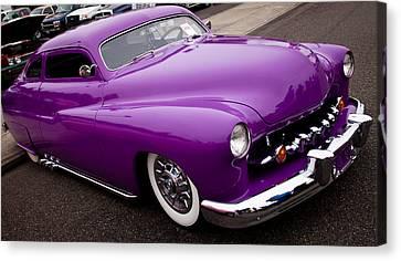 1950 Purple Mercury Canvas Print by David Patterson