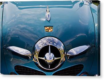 1950 Studebaker Canvas Print by Roger Mullenhour