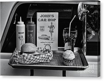 1950's Drive-in Canvas Print by Doc Braham