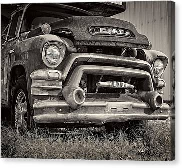 1950s Gmc 370 Canvas Print by Jon Woodhams