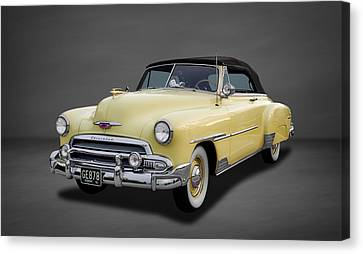 1951 Chevrolet Deluxe Convertible  -  3 Canvas Print