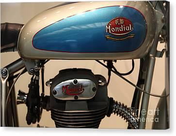 1951 Fb Mondial 125cc Turismo . 5d16995 Canvas Print