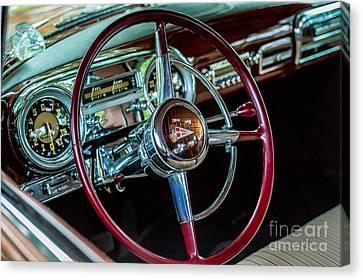 1951 Hudson Hornet Canvas Print
