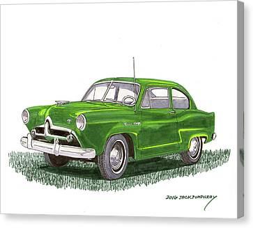 1951 Kaiser Henry J  Canvas Print